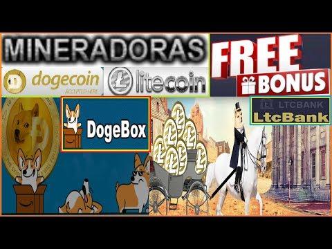 2 MINERADORAS DOGEBOX E LTCBANK CLOUD MINING DOGECOIN E LITECOIN PLANOS FREE + PROVA DE SAQUE
