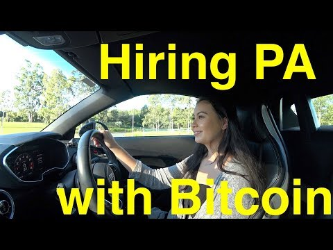 Hiring Personal Assistant with Bitcoin Cash