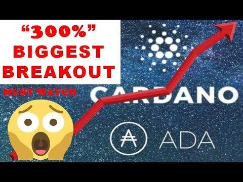 CARDANO (ADA) PRICE PREDICTION 2019 – 300% BREAKOUT!