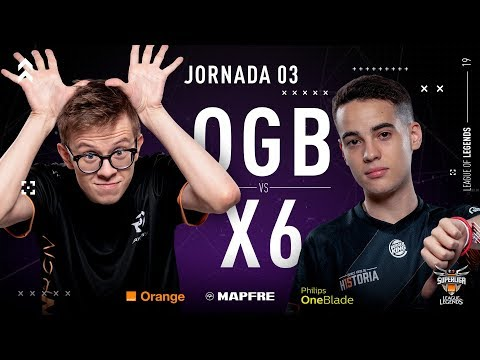 ORIGEN BCN VS X6TENCE | Superliga Orange League of Legends | Jornada 3 | Temporada 2019