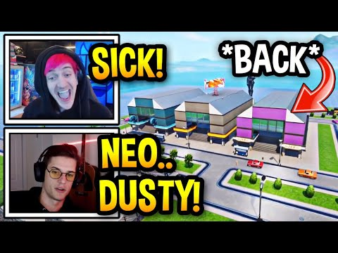 """Streamers React To """"NEO DUSTY DEPOT"""" In Fortnite! (BACK) – Fortnite Clips"""
