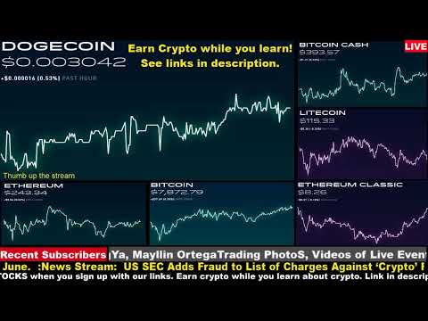 #Dogecoin Live on Robinhood – Get Free Litecoin Stellar Lumens and other coins to learn about crypto