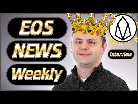 EOS News Weekly #24 – Dan Larimer Interview – New PEOS Wallet – Investments – Referendum's & More