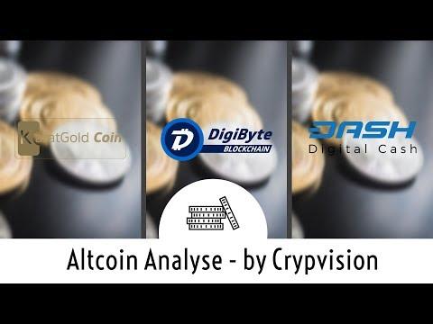 Mögliche Preisentwicklung zu KBC, Digibyte und Dash!