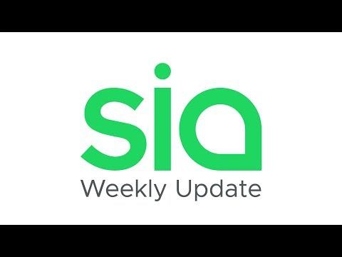 Meet our newest team member! – Sia Weekly Update | Week of June 2nd