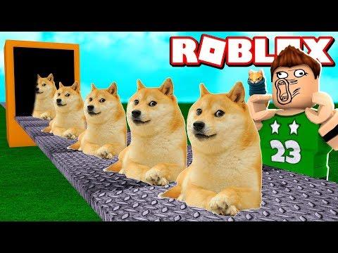 NUESTRA PROPIA FABRICA de DOGE en ROBLOX !!