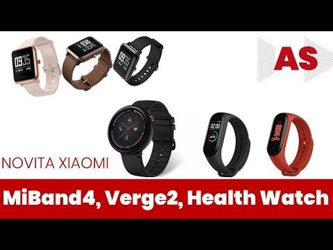Amazfit Verge 2, Health Watch, MiBand 4: i nuovi prodotti di Huami