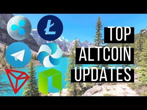 Top Altcoin Updates – Neo, Telegram Token, Litecoin, High Performance Blockchain and Tron