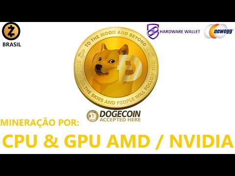 🔴 Como Minerar Dogecoin (DOGE) CPU & GPU AMD / NVIDIA – Algoritmo Scrypt