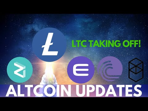Litecoin Price Surge! Fantom, Enjin, Zilliqa, RavenCoin, and More – Altcoin Updates