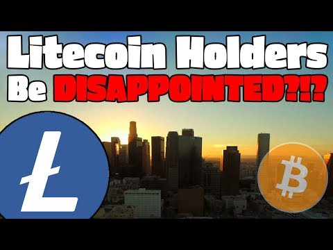 LITECOIN HALVING Price Speculation… Why You WILL BE DISAPPOINTED!!!