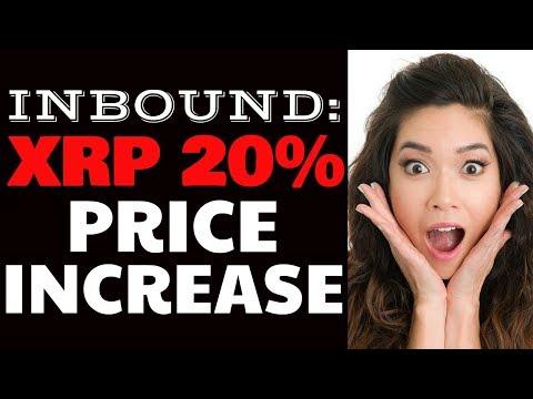 Inbound: 20% XRP Price Increase