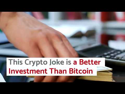 Dogecoin News: This Crypto Joke Is A Better Investment Than Bitcoin