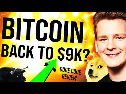 🚨 BITCOIN $9,000 SOON? 🤞 2000 BTC Lost – Trader Dies, Dogecoin Code Review – Programmer explains