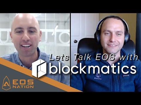 Lets Talk EOS with blockmatics!