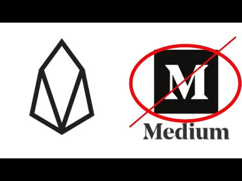 Decentium to Take Over From Medium For EOS Content!