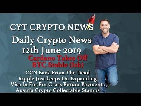 Cardano Takes 🔥Off BTC Stable (Ish) 🔥CCN Back From Dead🔥 Ripple Expanding 🔥 Crypto Stamps