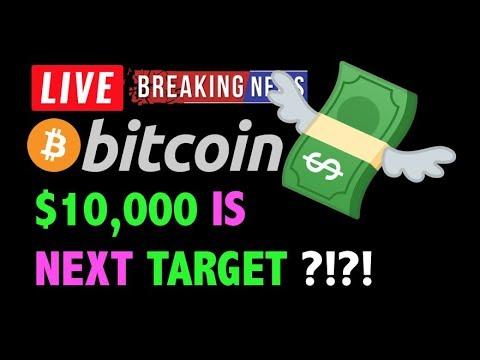 Bitcoin NEXT PRICE TARGET = $10,000?! 🚨-LIVE Crypto Trading Analysis & BTC Cryptocurrency News 2019