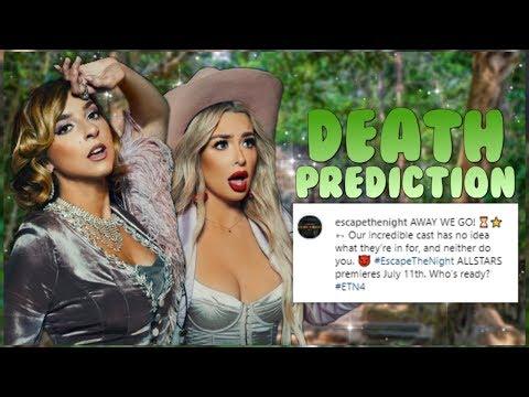 ETN 4: ALL-STARS DEATH PREDICTION (PRE-SEASON)! | Escape the Night 4: All-Stars