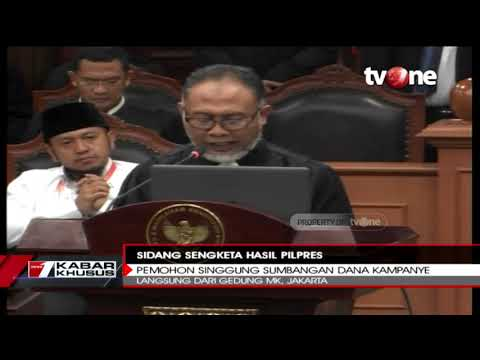 Singgung Dana Kampanye Jokowi, Bambang Widjojanto: Ada Indikasi Samarkan Sumber Dana Kampanye
