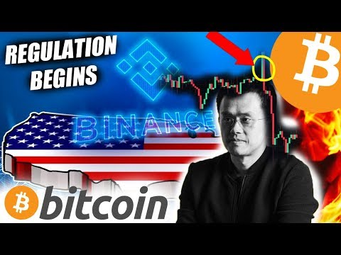 Binance ban USA customers, Bitcoin and Cryptocurrency regulation begins.