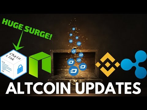 HUGE Chainlink Surge! Dash, NEO, Ripple, and Binance Coin – Altcoin Update