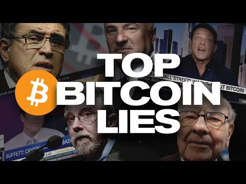 The Top Bitcoin Myths REKT! 3 LIES Spread About Bitcoin & Crypto