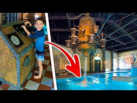 PRANK & CACHE-CACHE DANS UNE PISCINE ! – Aire de Jeux Aquatiques d'Efteling