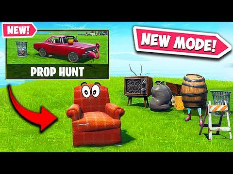 *NEW* PROP HUNT LTM IS AMAZING! – Fortnite Funny Fails and WTF Moments! #589
