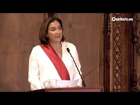 "Investidura de Ada Colau ""No seré una alcaldesa independentista, pero tampoco anti-independentista"""