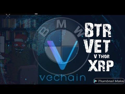 Vechain  Listed on Bakkt.  XRP BTR VET BG123 Crypto LIFE