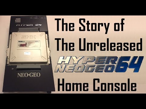 The Story of the Unreleased SNK Hyper Neo Geo 64 Console