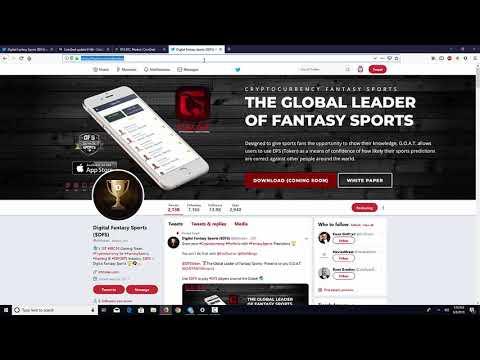 Big News – Digital Fantasy Sports – Top 20 Soon