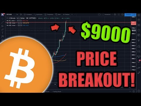 Bitcoin JUST Broke Past $9,000!! NEW 2019 HIGHS! FacebookCoin Unveil Libra Assoc | Ethereum 2.0