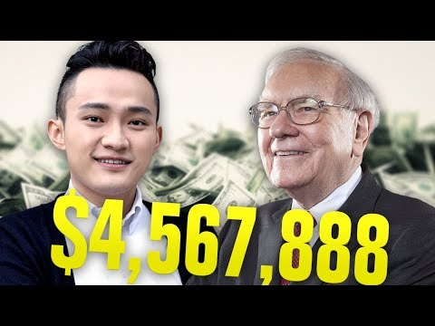 Tron Founder Strikes ABSURD DEAL With Warren Buffet