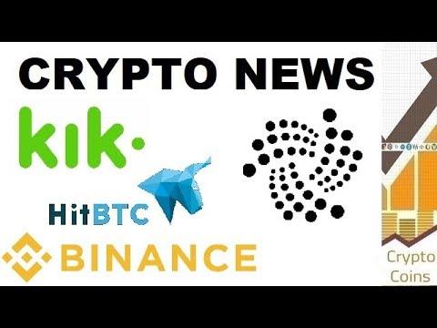 Crypto News – Price Update, HitBTC controversies, Kik vs SEC, IOTA news and Binance blocking US