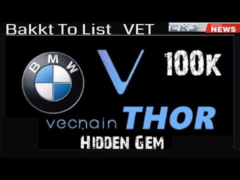 Bakkt to List Vechain. Ripple XRP Partner Talks Vechain. Vechain Massive Partnerships BMW