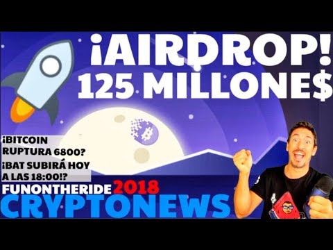¡AIRDROP 125 MILLONES DE DOLARES $ 🤑STELLAR LUMENS XLM! /CRYPTONEWS 2018