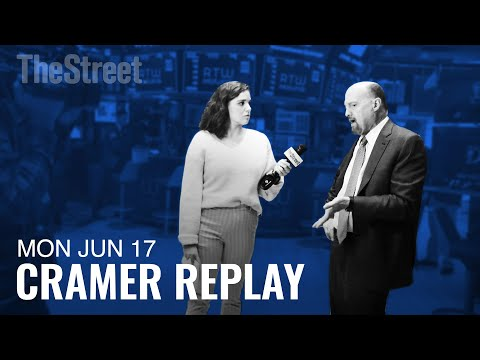 Jim Cramer Tackles Trump's Tweets, Boeing and Facebook's Cryptocurrency