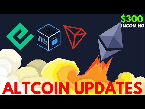 Ethereum to Break $300? Energi up 400%, ChainLink and Tron News – Altcoin Update