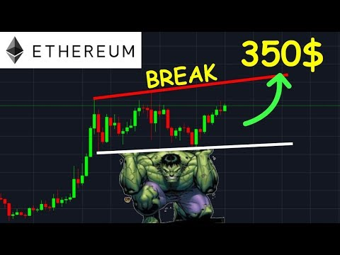 ETHEREUM 350$ ENFIN LE PUMP ATTENDU !? ETH analyse technique crypto monnaie bitcoin