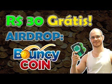 Airdrop Bouncy Coin dará 100 Tokens no valor de R$30! Distribuição de Criptomoedas 100% Grátis!