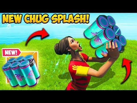 *NEW* CHUG SPLASH IS AMAZING! – Fortnite Funny Fails and WTF Moments! #592
