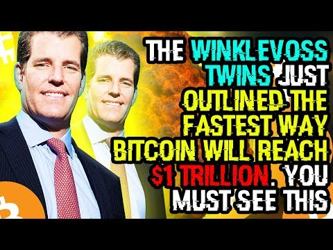 THE WINKLEVOSS TWINS Just OUTLINED The FASTEST WAY BITCOIN Will REACH $1 TRILLION. YOU MUST SEE THIS