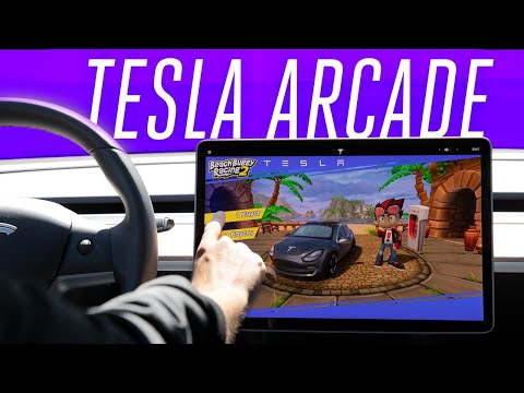 Tesla Arcade hands-on: the Model 3 is your video game console