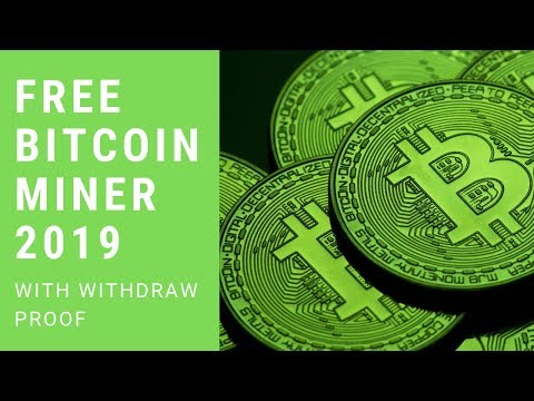 Free Bitcoin miner with withdraw proof