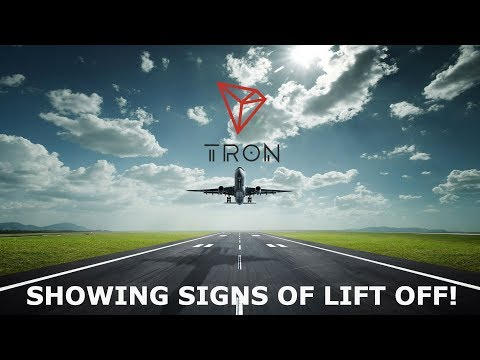 TRON TRX SHOWING SIGNS OF LIFT OFF!
