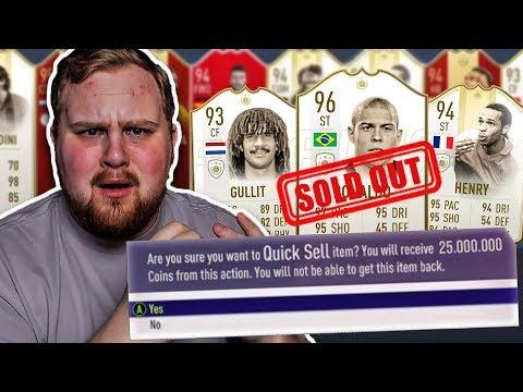 OMG *25 MILJONER COINS BLIR DISCARDAT* – FIFA 19 SVENSKA