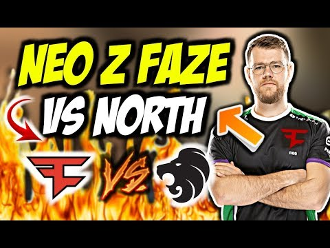 NEO Z FAZE  WALCZĄ O PLAYOFFY PRO LIGI!!! NIKO AIM GOD, FAZE VS NORTH – CSGO BEST MOMENTS
