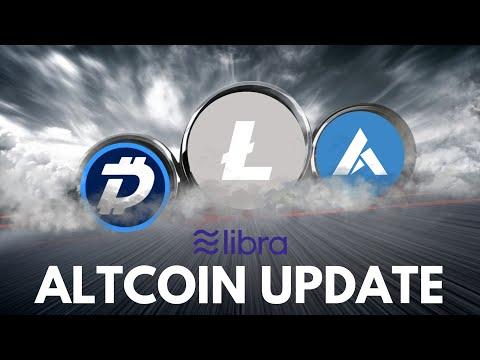 ALTCOIN UPDATE: Litecoin Debit Card, Ardor Surge, Digibyte, and Libra Coin